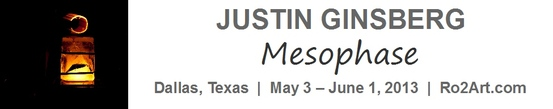 Justin Ginsberg: Mesophase - Opens May 3 at Ro2 Art Downtown Projects